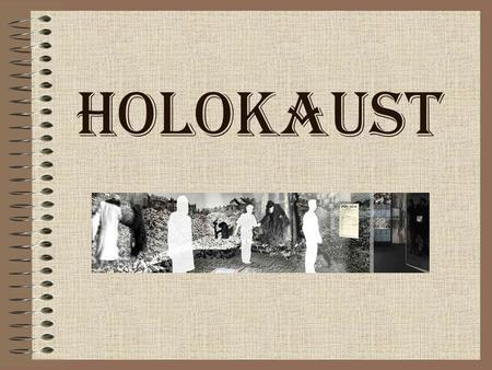 HOLOKAUST. Spis treści Wyjaśnienie pojęcia Holokaust Prześladowania przed wybuchem II wojny światowej Polityka eksterminacyjna w czasie II wojny światowej.