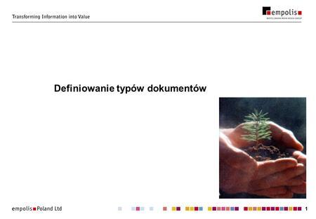 11 Definiowanie typów dokumentów. 22 Jak wygląda XML? st. asp. Jan Łapówka Dołowice Górne Wypadek dnia 13.10.2001r o godzinie 13:13 ( piątek ) miał miejsce.