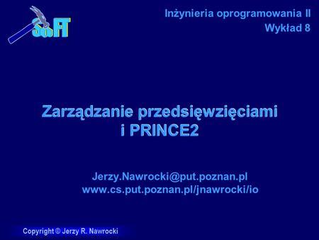 Zarządzanie przedsięwzięciami i PRINCE2
