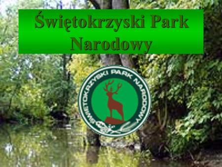 Świętokrzyski Park Narodowy. Historia, Położenie, Obszar Park położony jest w centralnej części kraju, na terenie województwa świętokrzyskiego. Obejmuje.