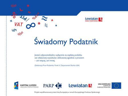 Optymalizacja podatkowa Jacek Bajson Wice-przewodniczacy grupy PIT/CIT Rady Podatkowej Lewiatan.