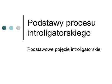 Podstawy procesu introligatorskiego