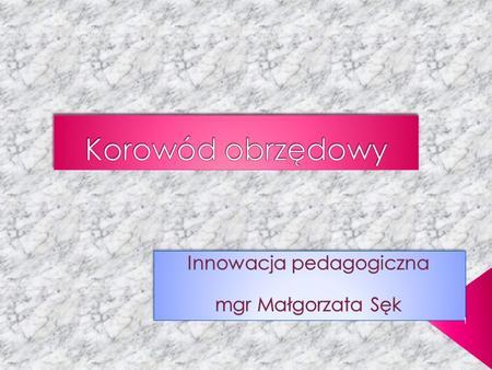 1. Idea powstania programu Cele edukacyjne Cele wychowawcze Charakterystyka programu Na czym polega innowacyjność programu? Przebieg zajęć Sposoby ewaluacji.