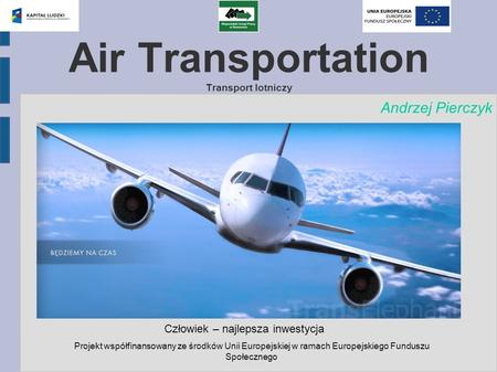 Air Transportation Transport lotniczy