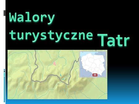 najwyższe pasmo w łańcuchu Karpat. Tatry leżą w Łańcuchu Tatrzańskim, w Centralnych Karpatach Zachodnich. Powierzchnia Tatr wynosi 785 km², z tego około.
